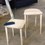 1. custom stool frames