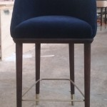 11. finished stool front