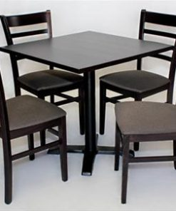 Table with ACCRA 4 way cast iron base