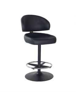 Kiev black disc stool