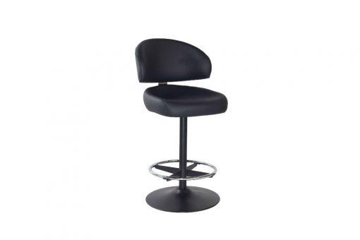 Kiev black disc stool