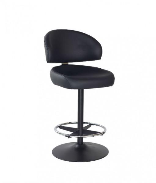ACFS0036 Kiev black disc stool
