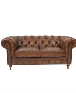 Vintage chesterfield lounge
