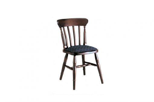 Tenterfield dining chair with seat pad
