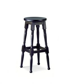 Lawson high stool round