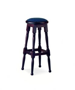 Lawson high stool with padding