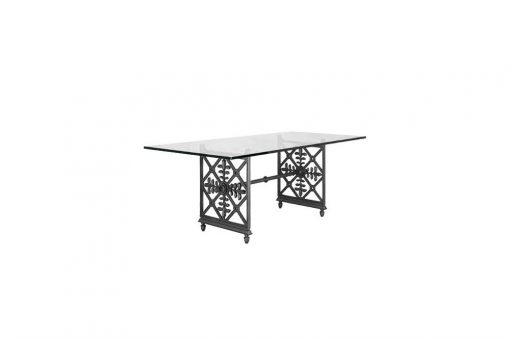 Lys double table-base