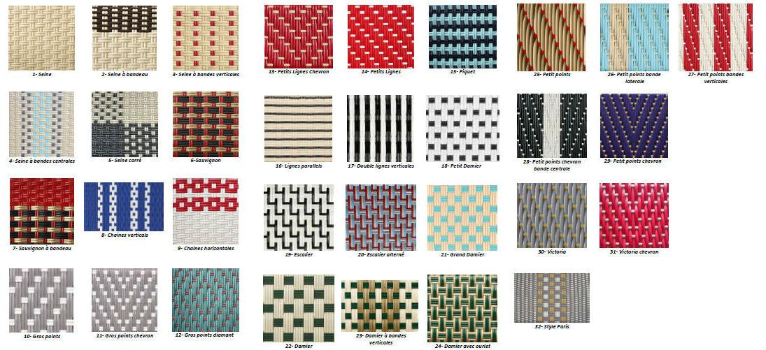 Classic weave pattern