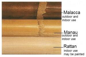 natural cane frames