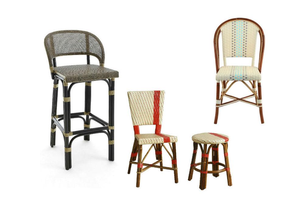 Italian wicker seating