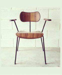 NOD vintage timber armchair