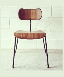 NOD vintage timber side chair