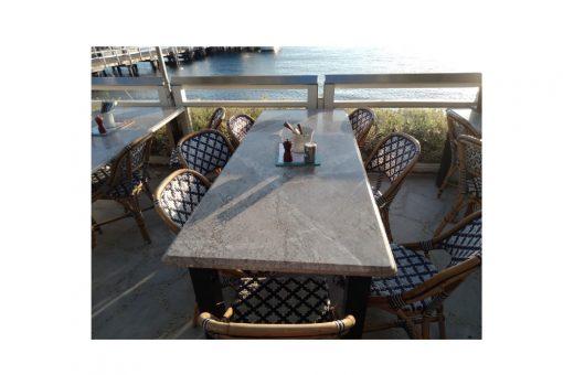 Custom marble table tops