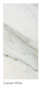Carrara white custom marble table top