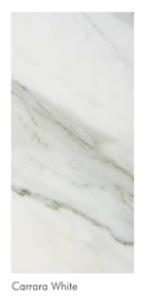 Carrara white custom marble table top