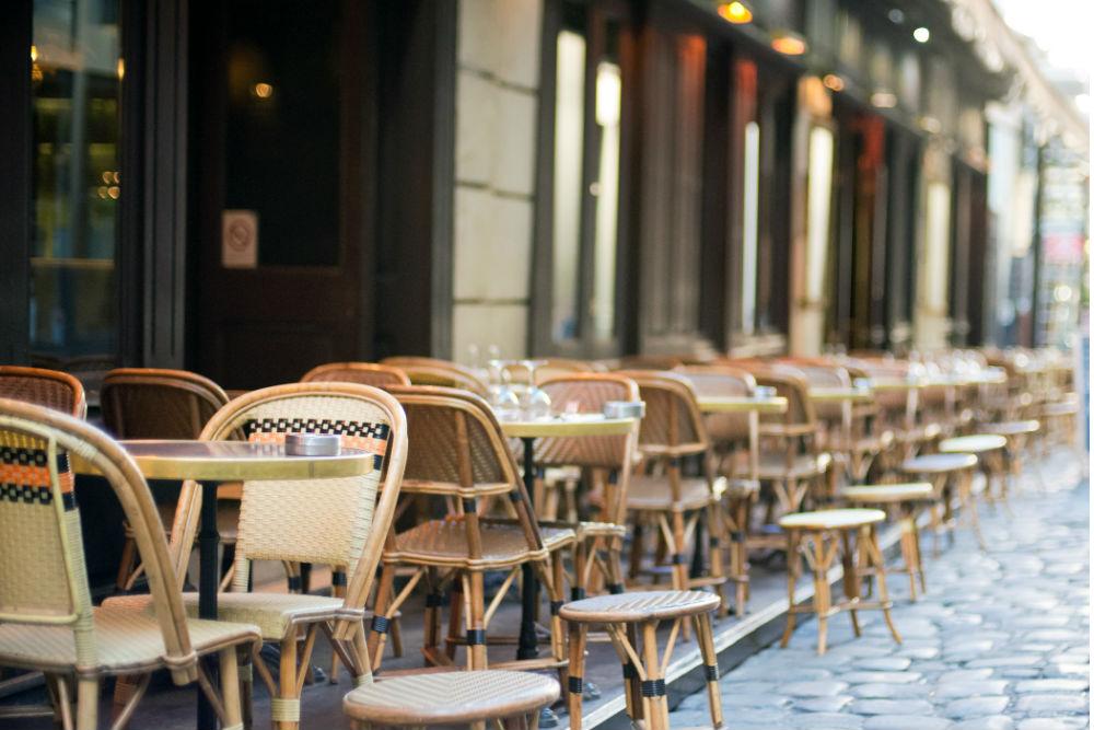 Custom Italian wicker seating