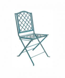 Diamond folding chair