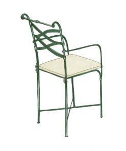 Double X armchair