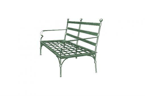 Ferro two seater sofa