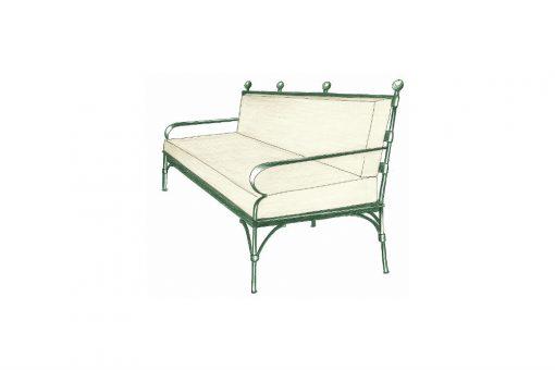 Ferro three seater sofa