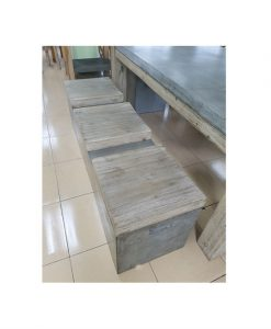 Concrete seat bench