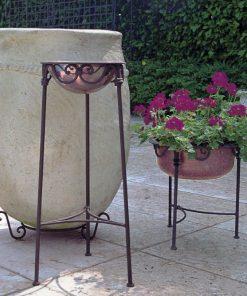 Copper bath tub stool