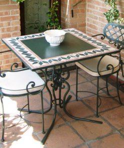 Ferro square cafe table 13