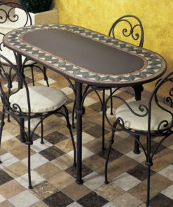Ferro oval table 23