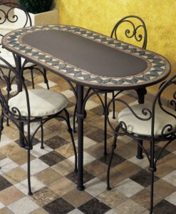 Ferro oval table 23