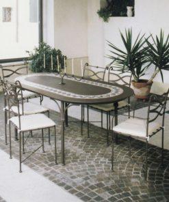 Ferro oval table 24