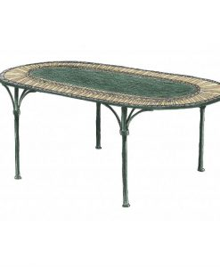 Ferro oval table 24