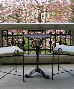 Ferro balcony table 29