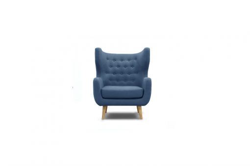Tufted tub chair