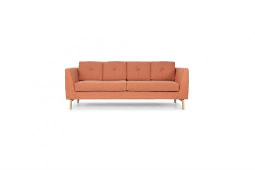Danish four cushion lounge