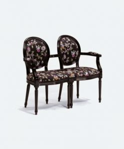 Amandine double armchair