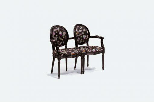 Amandine double armchair