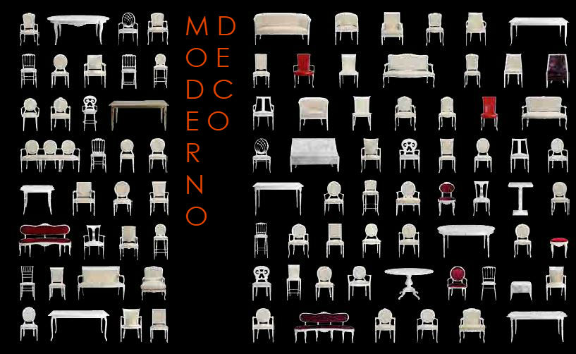 Bizet range by Moderno Deco
