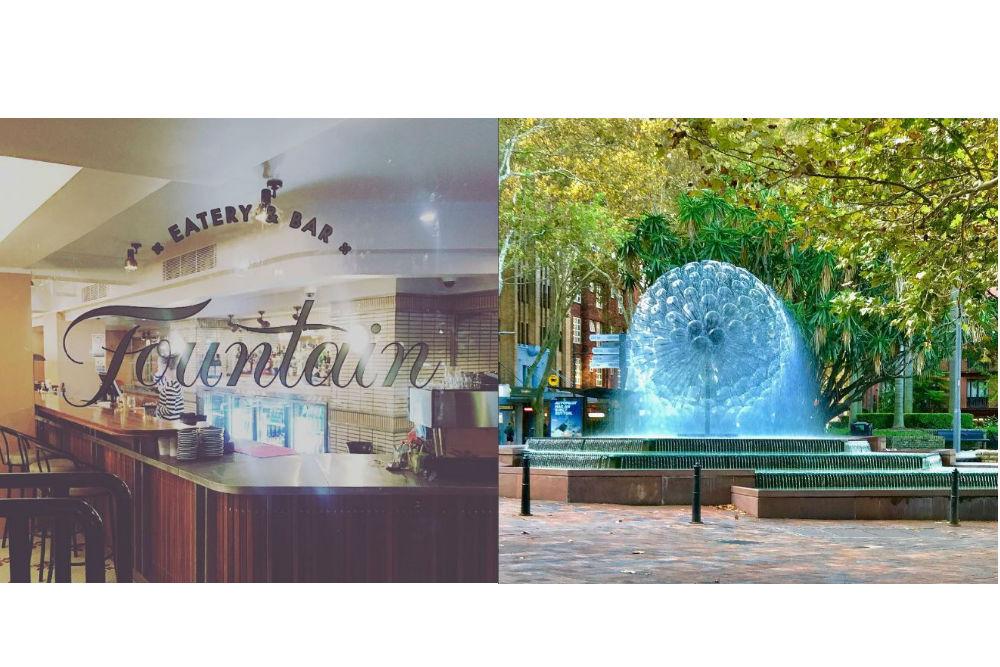 Fountain eatery and bar, Potts Point