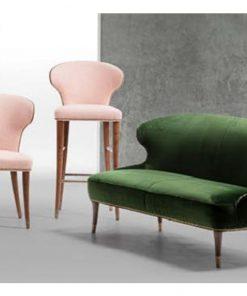 Camilla chair, stool, lounge