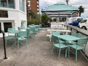 Custom furniture at Hotel Esplanade