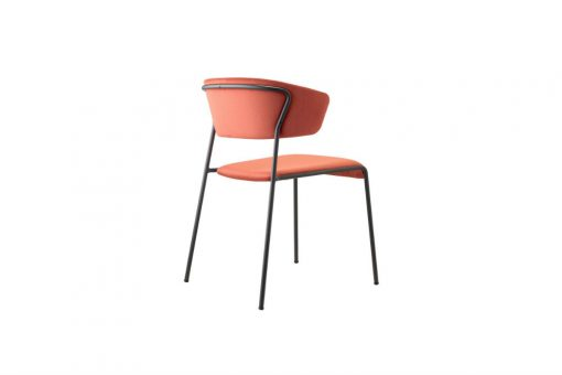 Lisa chair with armrests