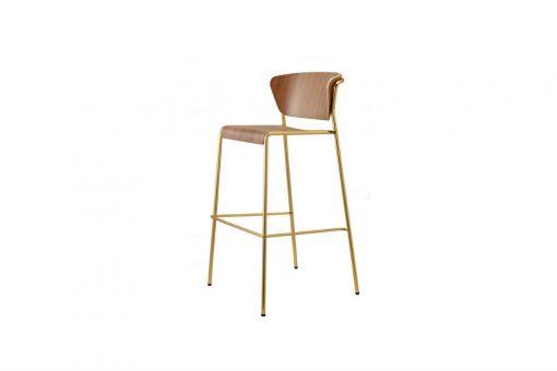 Lisa wood stool