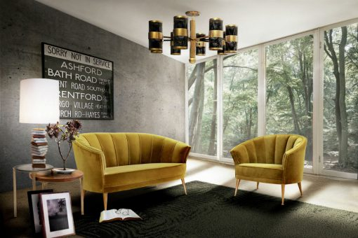 Peacock lounge chair and sofa