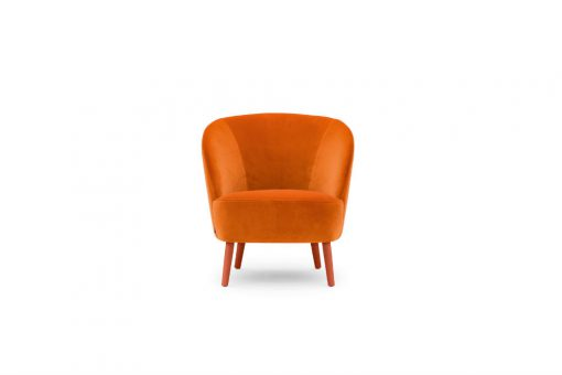 Rose low lounge chair