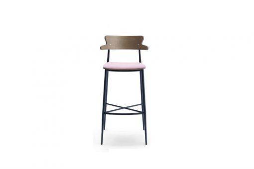 Zaira stool with arms
