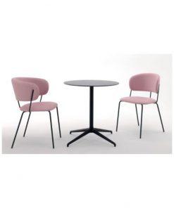 Nikita arm and side chair