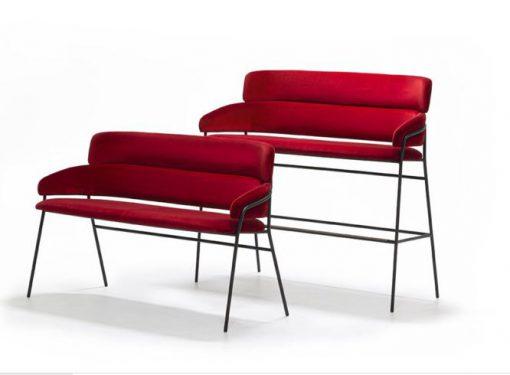 Strike sofa and sofa stool