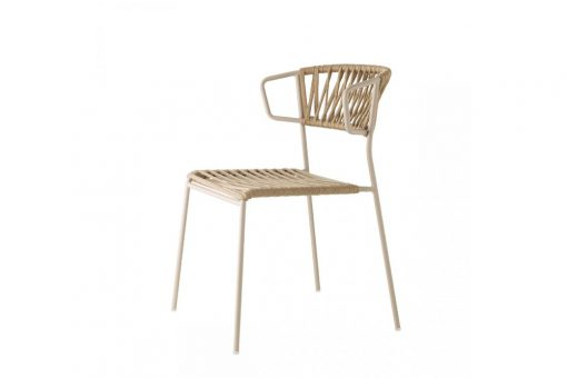 Lisa filo chair with arms