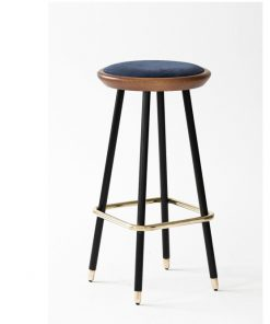 Drop four bar stool