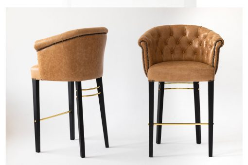 Scarlet bar stool